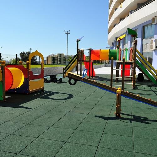 Parque infantil Apartamentos Oceano Atlântico