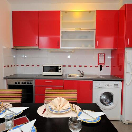 Cozinha Apartamentos Oceano Atlântico