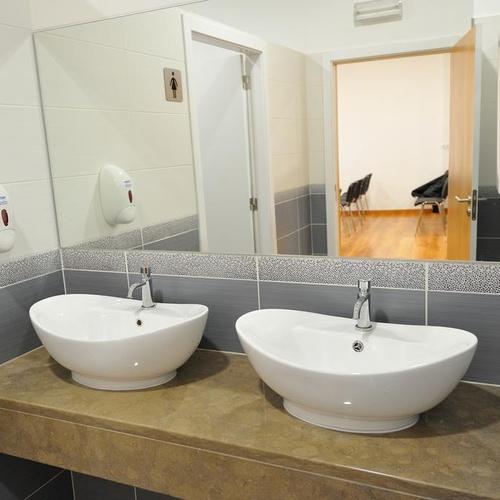 Casa de banho Apartamentos Oceano Atlântico